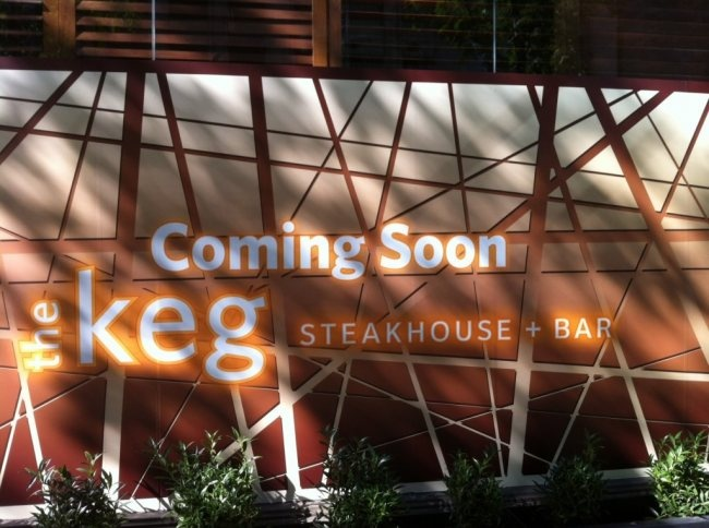 The Keg opening soon at Dunsmuir and Granville in Vancouver, B.C.