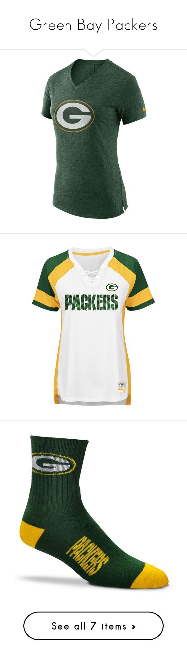 """""""Green Bay Packers"""" by mary-rose-klinger ❤ liked on Polyvore featuring accessories, hats, logo hats, nfl hats, nfl logo hat, green bay packers hat, bills hat, green, adjustable baseball caps and embroidered baseball hats"""