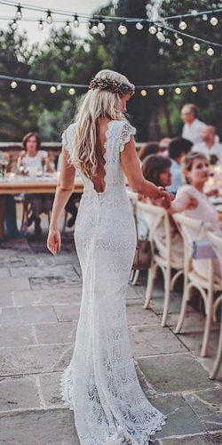 low back bohemian wedding dresses 4