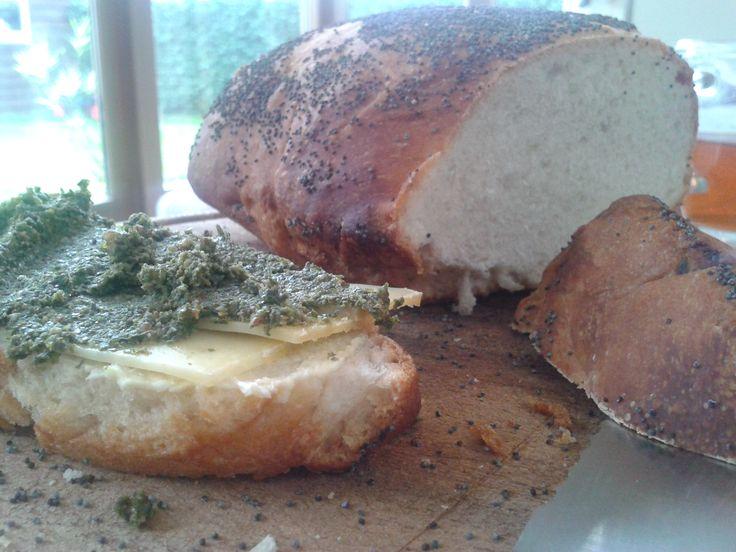 Ja, je leest het goed. Er staat écht: boerenkoolpesto! Dit creatief-met-boerenkool-recept komt uit de keuken van chef Lisette Bossert. Deze super lekkere biobudget pesto smaakt fantastisch bij de p...