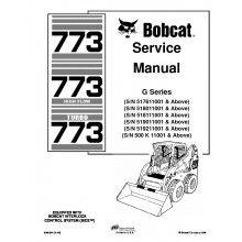 Bobcat 773, 773 HF, 773 Turbo G-Series Service Manual PDF