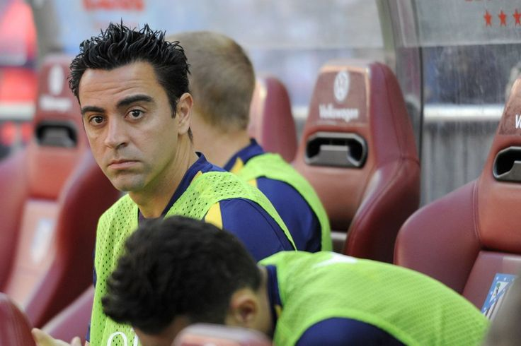 Xavi Hérnandez presto a ingresar para obtener su 8o. título. | Atlético de Madrid 0-1 FC Barcelona. [17.05.15]