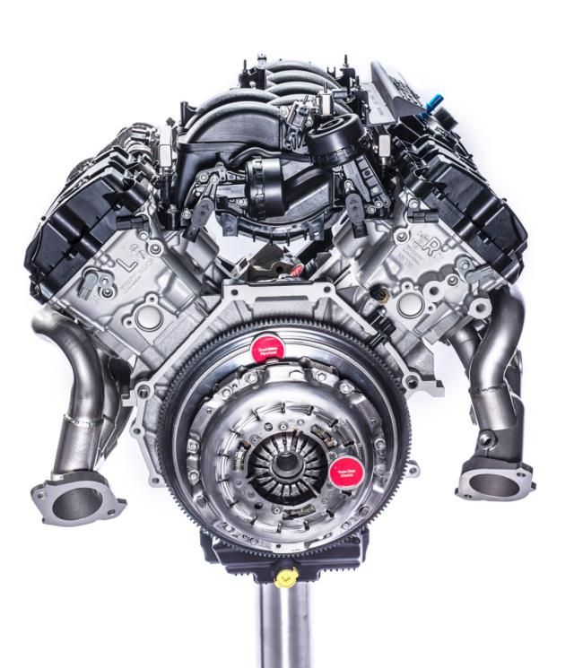 1631 best engines images on pinterest engine motor engine and fords all new shelby gt350 52l v8 to produce 526 horsepower ford motor sciox Choice Image