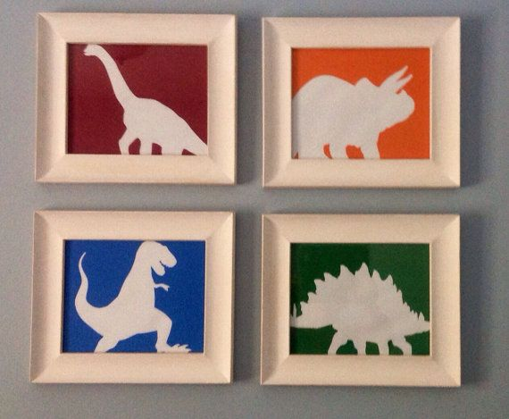 Dinosaur Decor  Matches Dino Bedding Set at by BunkarooDesigns