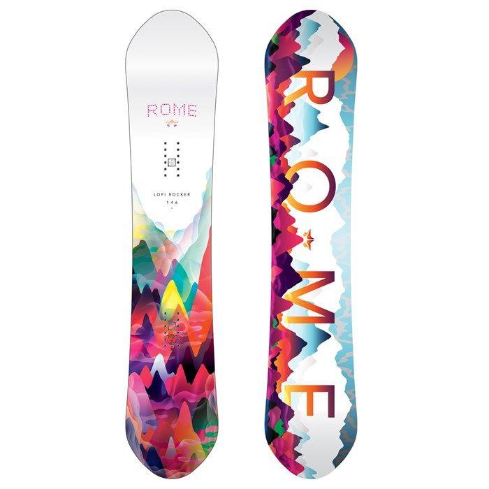 Rome Lo-Fi Rocker Snowboard - Women's 2017