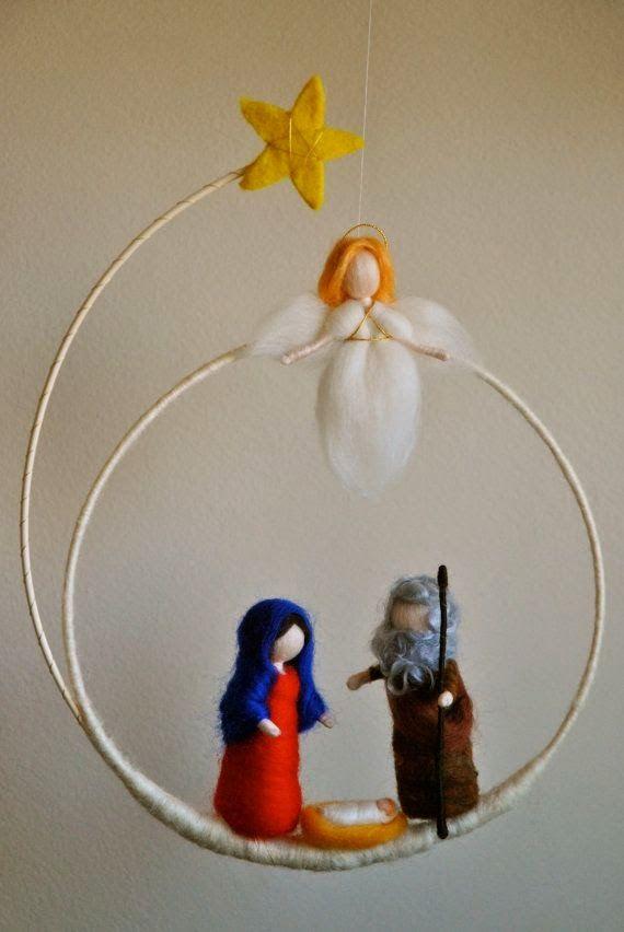 sagrada família em lã                                                                                                                                                                                 Mais