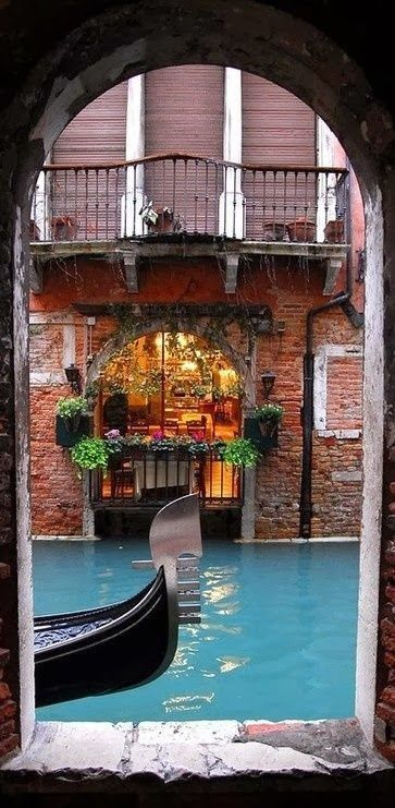 Portal onto a Canal in Venice ~ Italy
