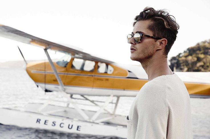 Pacifico Optical look book Flight Sunglasses Jye Williams