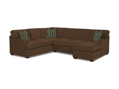 Shop For Klaussner Loomis Fabric Sectional K29000 Fab