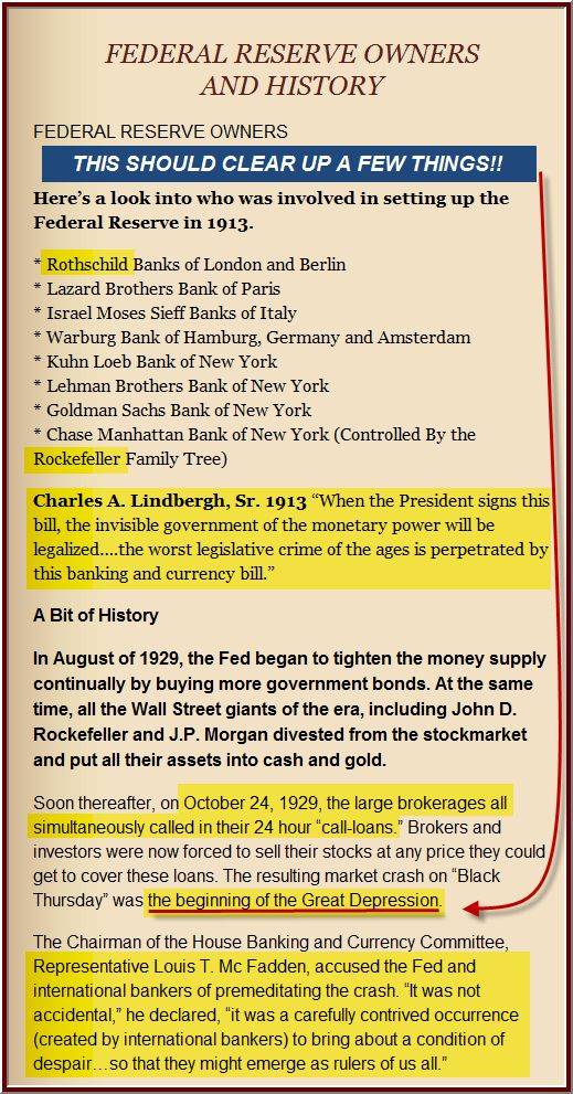 Federal Reserve Bandits