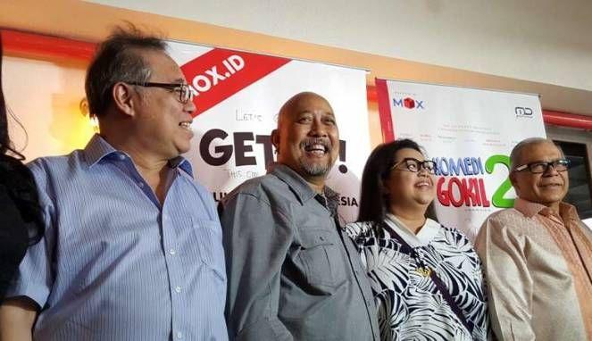 Indro Warkop Bersyukur Aplikasi MOX Bantu Pecinta Film Indonesia : Perkembangan teknologi yang begitu pesat saat ini justru memudahkan insan film untuk menikmatinya. Hal itu diakui Indro Warkop yang merasa bersyukur karena minat