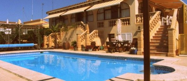 Stylish Villa with Gargantuan Swimming Pool, Punta Prima, Menorca