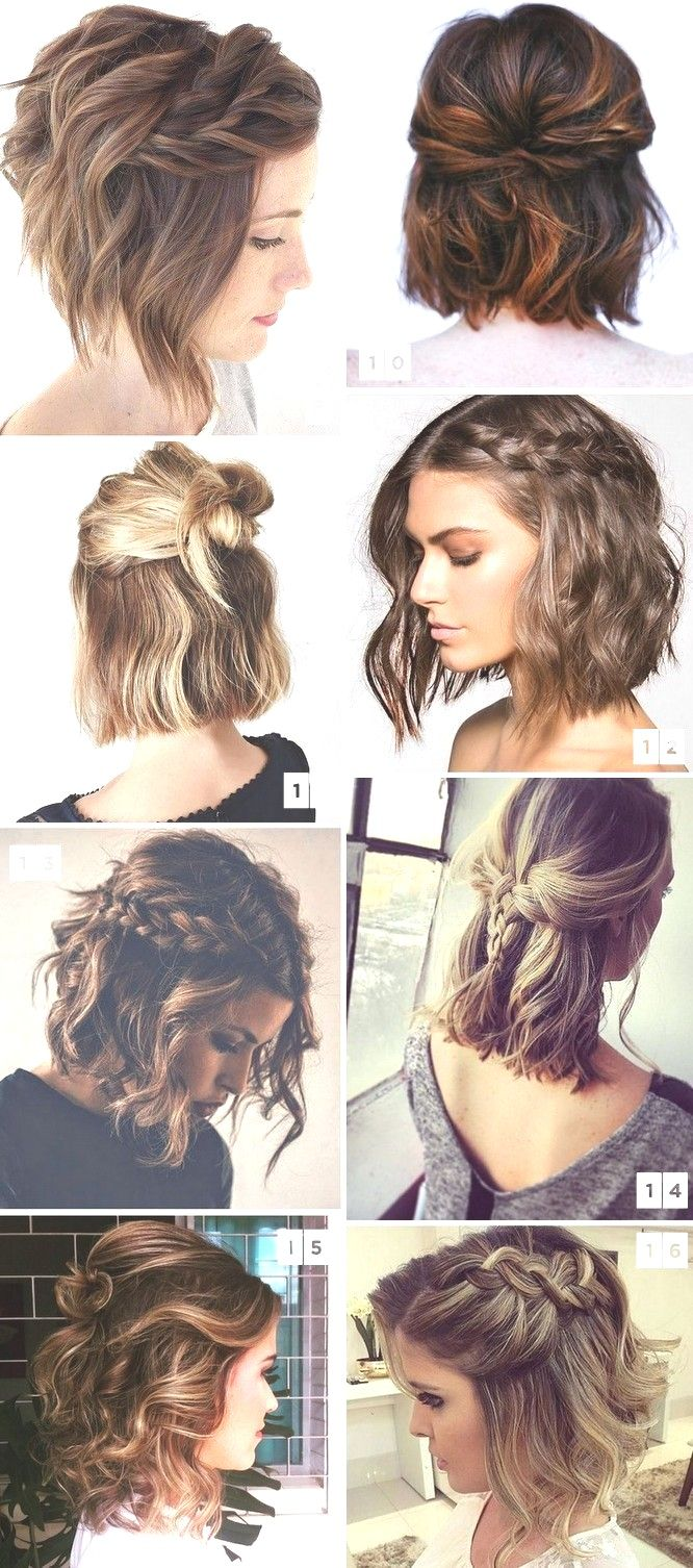 Lovely wedding hairstyles inspiration for short hair  If you