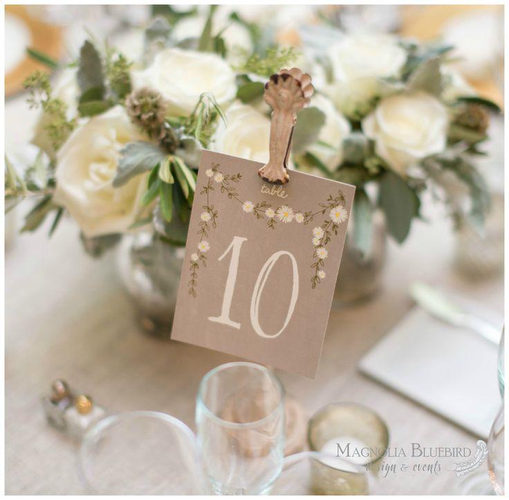 Table Numbers   DC Wedding   Magnolia Bluebird   Real Wedding   Meridian House   Washington D.C.