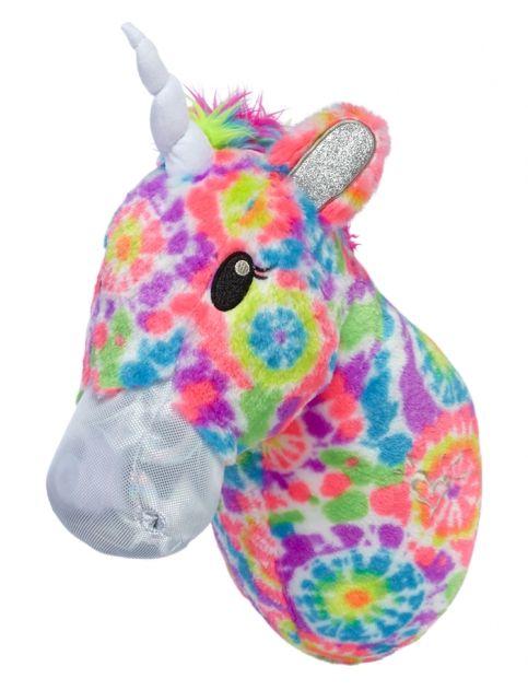 Unicorn Stuffed Animal Headmount Girls Room Accessories