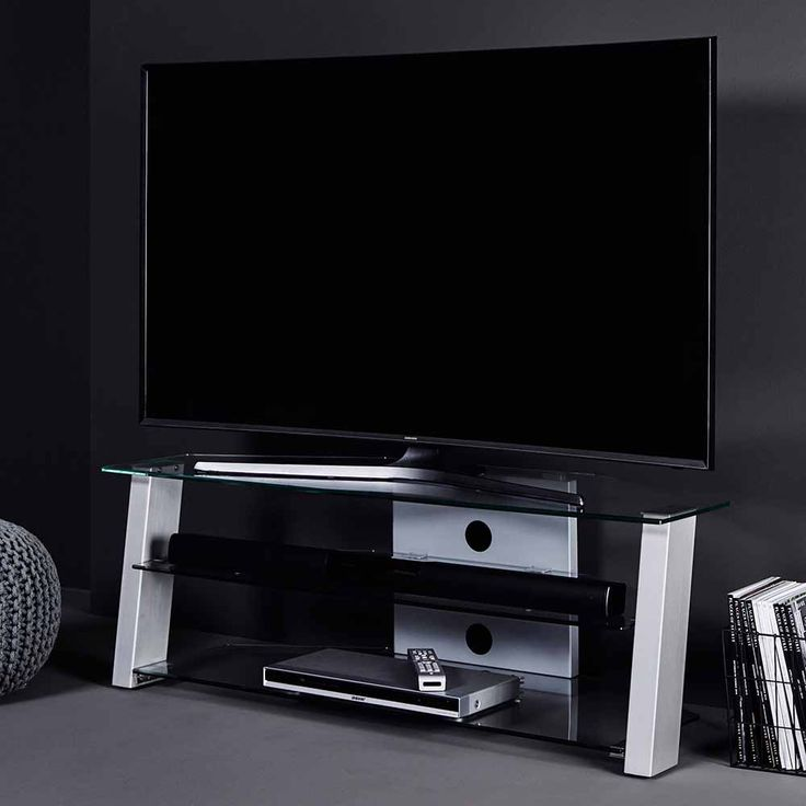 die besten 25 tv rack glas ideen auf pinterest tv m bel. Black Bedroom Furniture Sets. Home Design Ideas