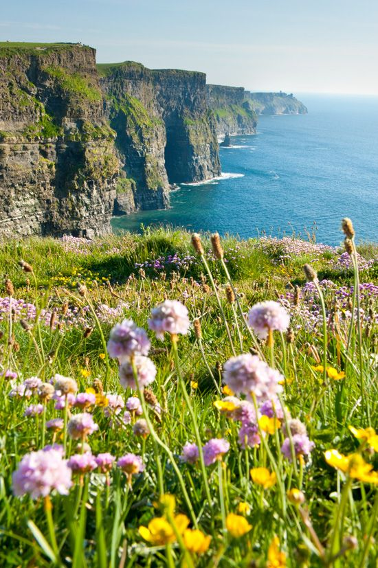 Ireland: beautiful in every way. The countryside is fresh & relaxing and the towns are full of friendly people. If you've never been to Ireland, you don't know what you're missing out on!
