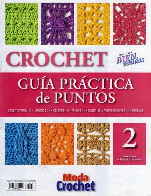 Revistas de manualidades Gratis: Revista de crochet gratis ༺✿ƬⱤღ https://www.pinterest.com/teretegui/✿༻