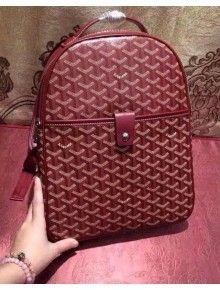 Goyard Backpack Burgundy