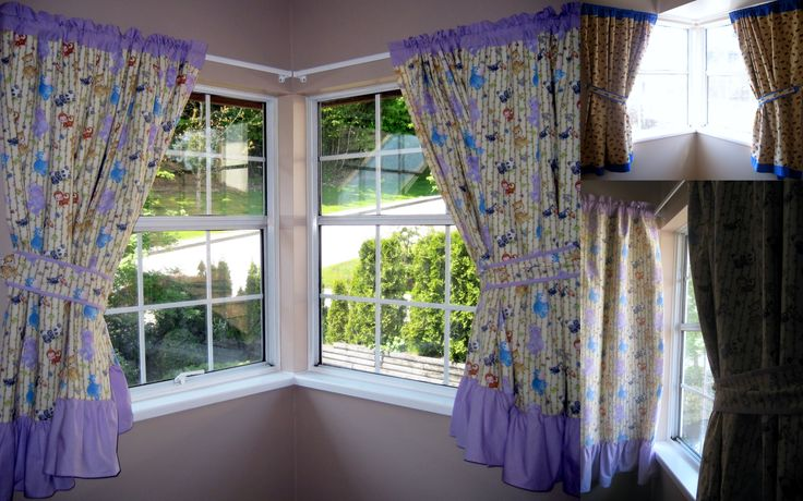 Best 25+ Corner window curtains ideas on Pinterest ...