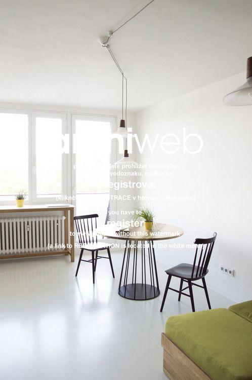 archiweb.cz - Byt pro Františka rekonstrukce panelákového bytu