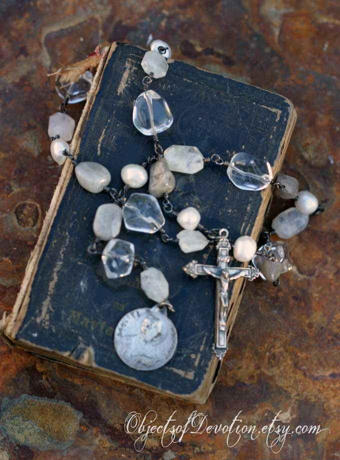 66 Best Images About Rosary On Pinterest Rosary Necklace