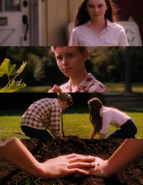 No kissing scenes, Just this. Epic ending. #flipped