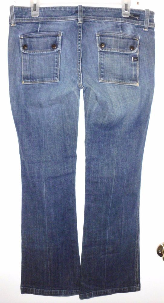 $35.99 FREE SHIPPING. CITIZENS OF HUMANITY Boot Cut Stretch Denim Blue Jeans Sz 31 Women VGC #CitizensOfHumanity #BootCut