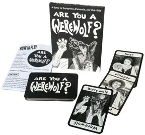 Are You a Werewolf? (Card Game) $6.00