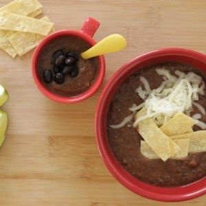 30-Minute Black Bean Soup Your Family Will Love