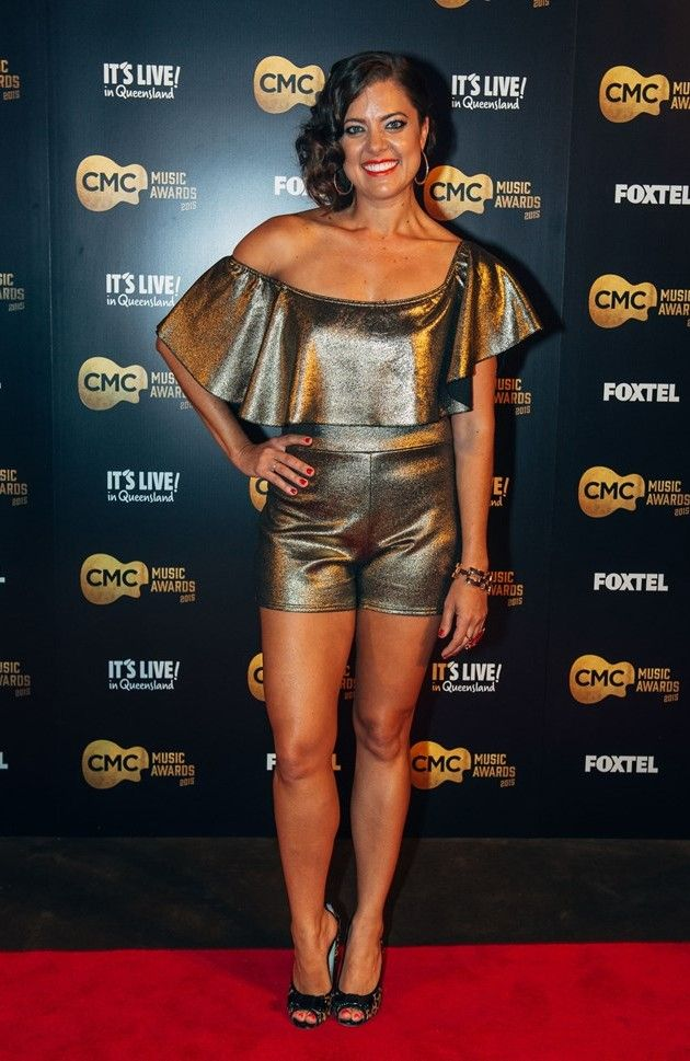 Amber Lawrence: Red carpet CMC Music Awards 2015 Homepage: http://www.amberlawrence.com.au/