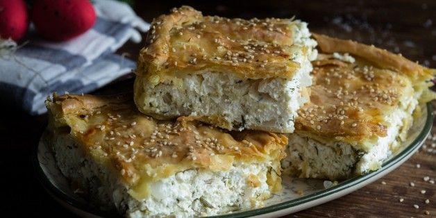 Συνταγή για κρεμμυδόπιτα από τη Μύκονο   The Huffington Post