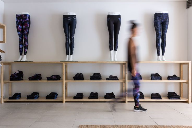 Mannequins featuring Nimble Activewear prints