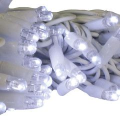 LED Christmas Lights - 5M/10M Rubber Cable Fairy Light (Connectable)