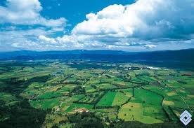 Sabana de Bogotá, me encanta ver el azul y el verde!