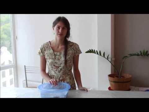 Мастер класс окраска валяных изделий Лена Баймут - YouTube