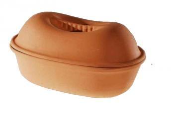Garnek rzymski GARSON (pojemność: 4,2 litra) - Pataki Keramia