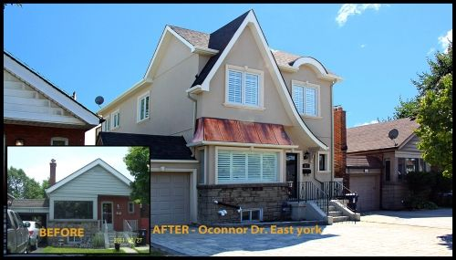 Before & After home renovation: Oconnor Dr. East York Ontario CAN #renovation #modularhome