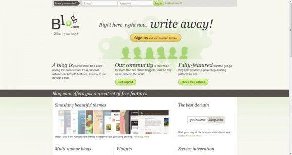 Opciones para crear un blog gratis