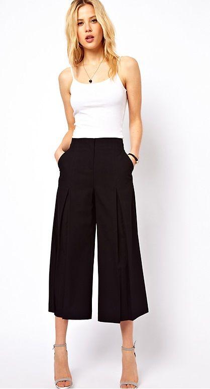 Classy Wide Leg Pants For Women
