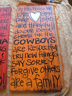 I WILL BE MAKING THIS!!: Decor, Cowboy, 11 Diy Ideas, Art, Team, Craft Ideas, Crafts