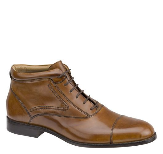 Stratton Cap Toe Boot - Johnston & Murphy