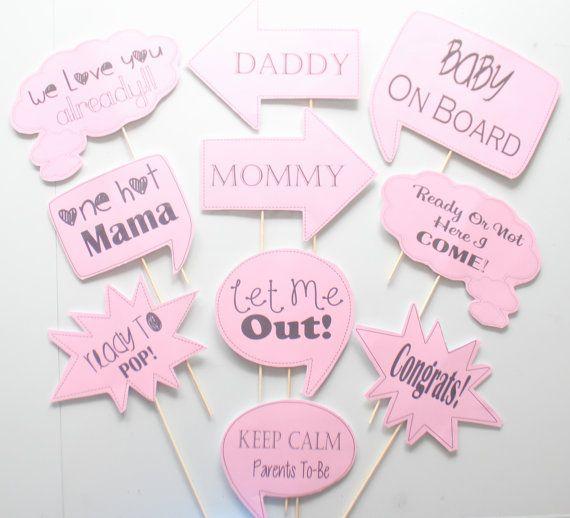 Divertido juego para tu fiesta de Baby shower. #babyshower #juegos