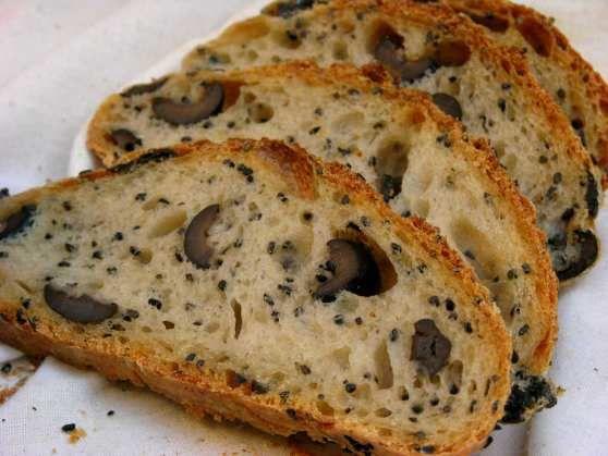 Pan con Aceitunas.