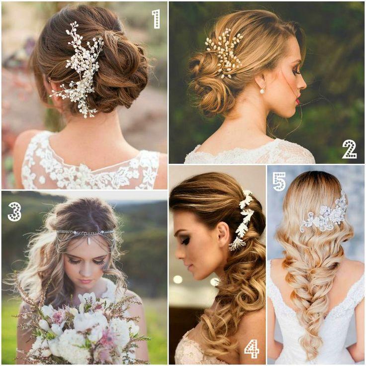 Dica de penteados para noivas.