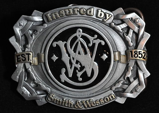 Smith & Wesson Belt Buckle Photos