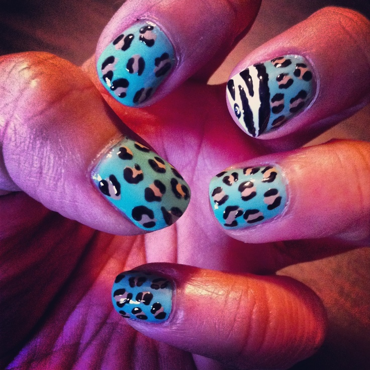 Leopard with a hint of zebra