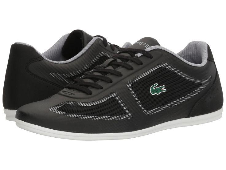 Buty meskie #LACOSTE, model MISANO EVO 116 1 CAM, w kolorze czarnym z białą podeszwą pochodzą z najnowszej kolekcji. Idealne nadają się na nadchodzący sezon WIOSNA-LATO. Poza tym posiadają wkładkę wewnętrzna Eco OrthoLite. Wykonano je z najwyższej jakości materiałów tekstylnych oraz syntetycznych.   #butymęskie #obuwiemeskie #kolekcjaLacoste #butysportowe #butyLacoste