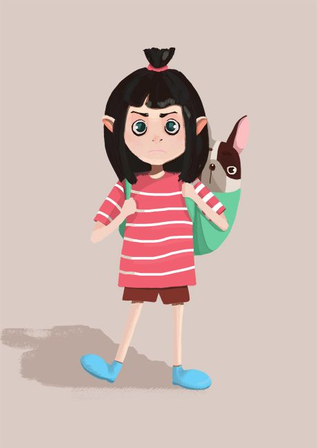 """Check out this @Behance project: """"Best friends. Character design"""" https://www.behance.net/gallery/41538925/Best-friends-Character-design"""