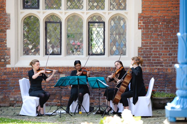 Aviva Ensemble Quartet- my gorgeous Essex country manor wedding (champagne gold, ivory and dusky pink colour scheme)